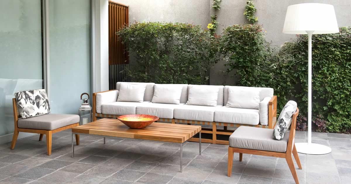 L nea personalizada de exterior ppppdesign el dise o for Salas de terraza